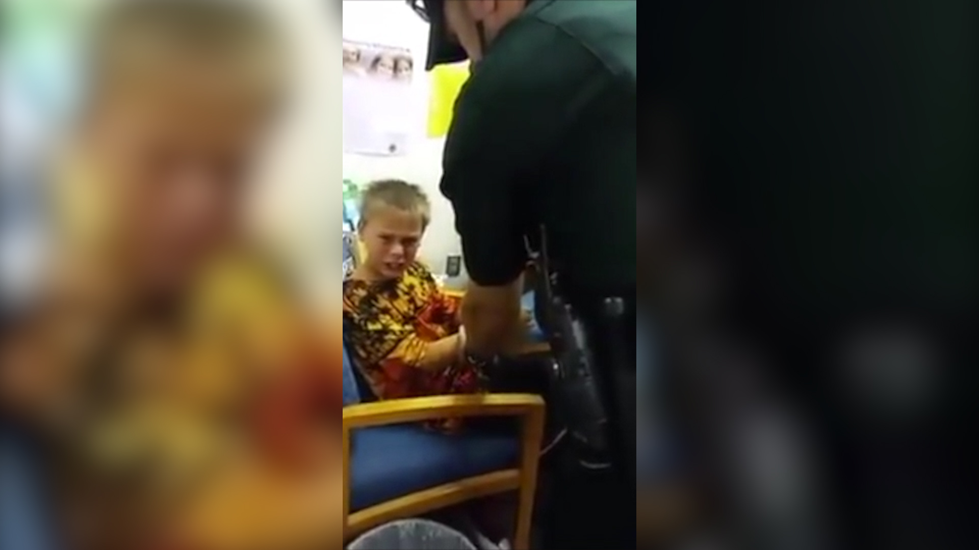 Mom films arrest, handcuffing of autistic Florida boy