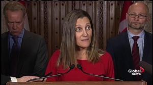 CETA 'best deal' EU has ever negotiated, time to 'get it signed': Freeland