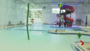 Dorval aquatic centre inauguration