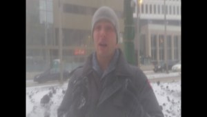 Global's Mike Koncan breaks down the system dropping snow across Manitoba