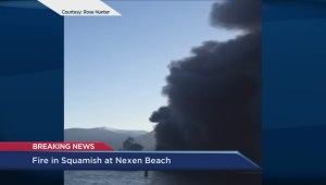 Developing: Squamish mayor on terminal dock fire