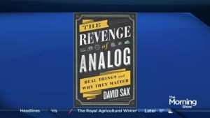 Author David Sax talks real things and why they matter