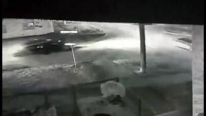 Caught on camera: vehicle slams into Winnipeg police cruiser