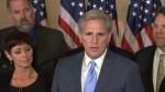 U.S. Republican Majority Leader Kevin McCarthy drops out of Speaker race