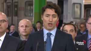 Trudeau: In the past, the federal government hasn't always been quick to deliver on disaster relief