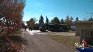 Edmonton police believe garage destroyed by fire was a drug lab