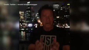 Arnold Schwarzenegger mocks Donald Trump over low approval ratings