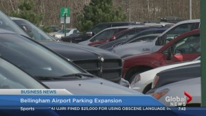 Bellingham airport parking expansion