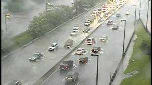 Timelapse: Flooding on the DVP