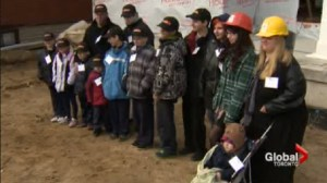 Habitat for Humanity builds a home for a family of 14!
