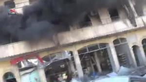 Raw video: Airstrikes continue in Aleppo for fifth straight day