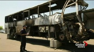 I-5 Fiery truck didn't attempt to stop from hitting bus: investigators