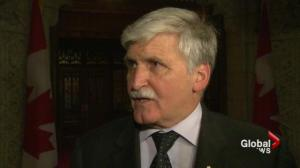 Romeo Dallaire car crash