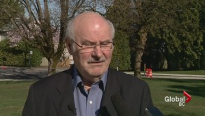 Mike Harcourt let's NDP membership lapse