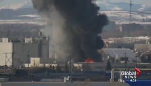 Massive fire at southeast shingle factory