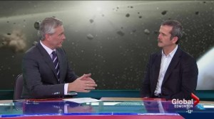 Chris Hadfield shares his insights on Early News