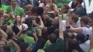 Fans and players brawl after Utah Valley/New Mexico State game