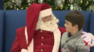 Santa makes special visit to children with autism