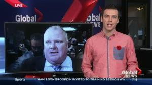Trending: Toronto radio show host thinks Rob Ford called in