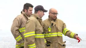 Halifax volunteer firefighters honoured for bravery
