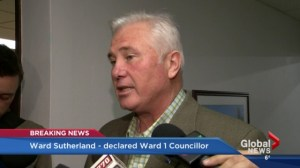Sutherland holds on to Ward 1