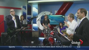 The Morning News rocks out