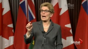 "Allegations of computer hard drives being wiped ""disturbing"" says Kathleen Wynne"