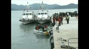 Underwater rescue for sunk South Korean ship faces challenges