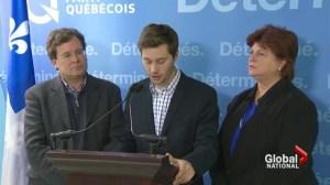 Parti Quebecois stumbles