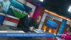Should Facebook allow photos of childbirth