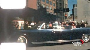 World pays tribute on JFK assassination anniversary
