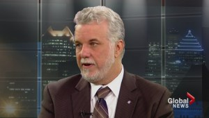 Philippe Couillard on values