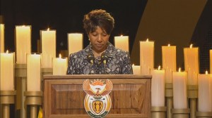 Mandela's granddaughter remembers the words of wisdom