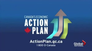 Who's watching Economic Action plan ads?