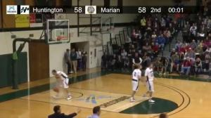 Incredible game-winning shot in college basketball game goes viral