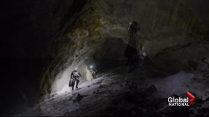 Cave adventurers Exploring Canada magnificent chasms