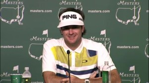 The Masters: Bubba Watson loves being a lefty