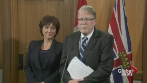 Premier hosts BC labour boss Jim Sinclair