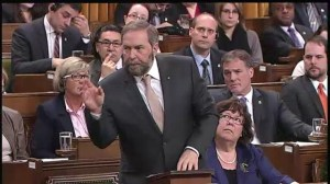 Mulcair attacks Harper over temporary foreign workers