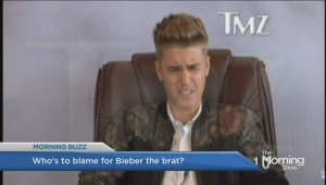 Bieber gives flippant deposition