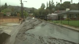 California hit hard with heavy rains