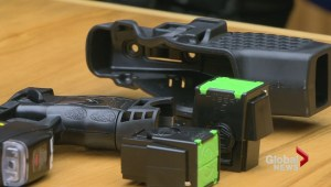 Saskatoon police now armed with tasers
