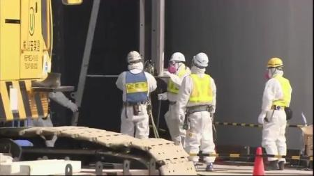 Raw video: TEPCO unveils control room at Fukushima plant