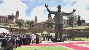 Mandela statue unveiled in South Africa capital