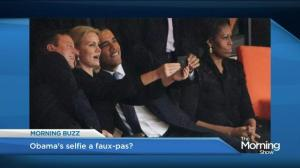 Obama in hot water over 'Selfie-gate'