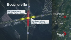 Overpass on Autoroute 30 East to be demolished