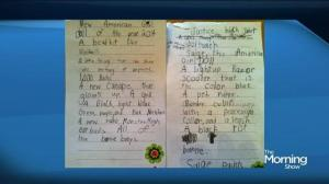 Letters to Santa: then and now