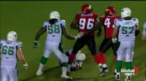 Stamps are sick of the disrespectful Riders