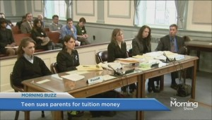 New Jersey teen sues parents
