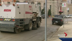Street sweeping blitz begins
